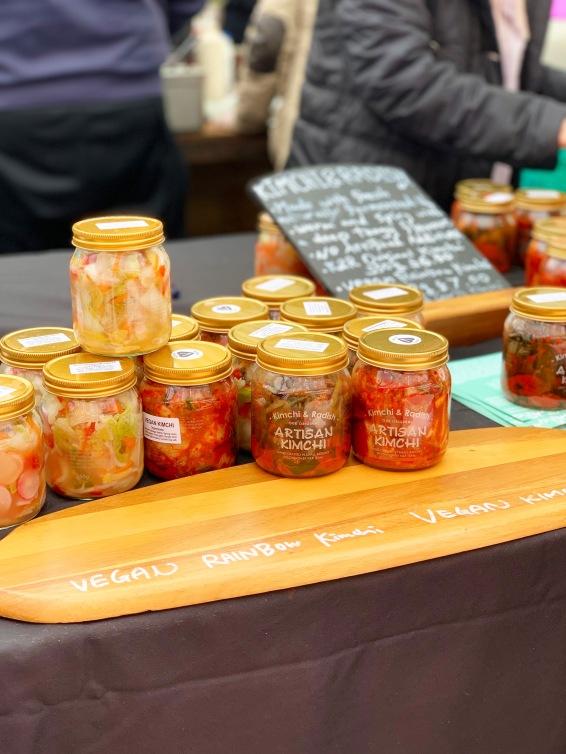 Artisanal Vegan Kimchi at Kimchi & Radish